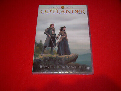 The Complete Fourth Season 4 Four NEW Sealed OUTLANDER DVD
