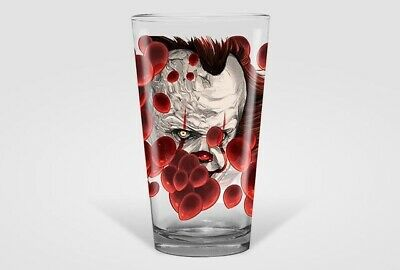 IT Chapter 2 Alamo Drafthouse MONDO Pint Glass - Stephen King Oliver Barrett