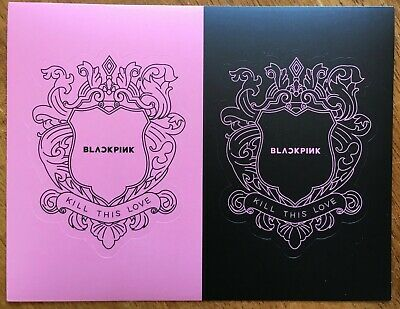 BLACKPINK 2ND MINI Album [KILL THIS LOVE] CD+P Book+Card+
