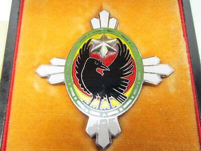 WW2 JAPANESE IMPERIAL SOLDIER RELIEF BADGE PIN ARMY NAVY SILVER Medal CROW WWII