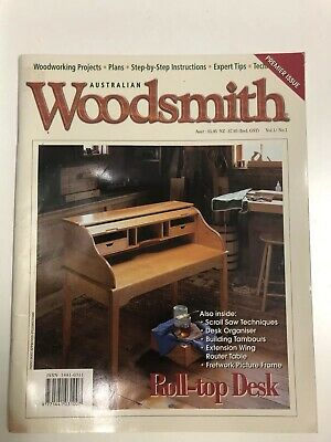 Australian Woodsmith No 1. woodworking projects plans step by step instructions