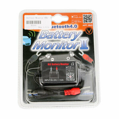 QUICKLYNKS Battery Monitor BM2 Bluetooth 4.0 Device iOS &Android For 12V Vehicle
