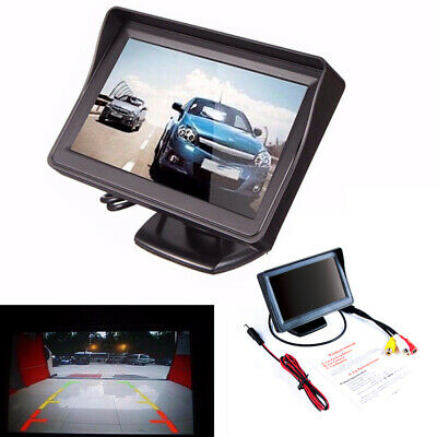 "New Reverse Rear View Parking 4.3"" PAL/NTSC Car Monitor Screen TFT LCD"