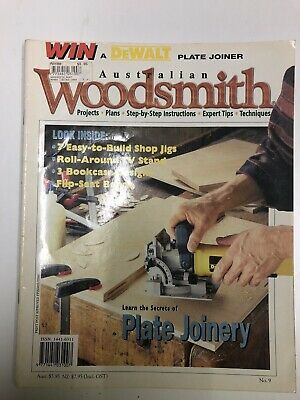 Australian Woodsmith No 9. woodworking projects plans step by step instructions
