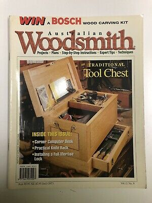 Australian Woodsmith No 8. woodworking projects plans step by step instructions