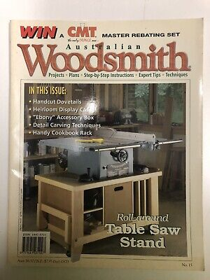 Australian Woodsmith No 15. woodworking projects plans step by step instructions