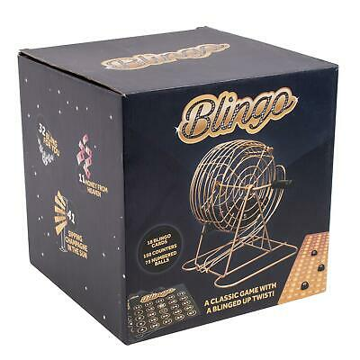 Blingo Gold Bingo Party Family Game