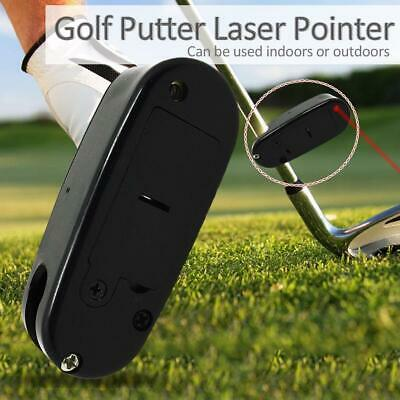 Portable Plastic Golf Laser Putter Pointer Putting Practice Aid Training Tools