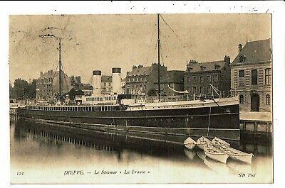 CPA - Carte Postale-France-Dieppe -Le Steamer : La France  VM5536