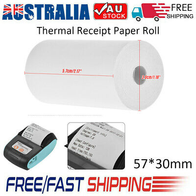 1-200X Thermal Receipt Paper Roll 57*30mm Ticket Printing for Cash Register POS