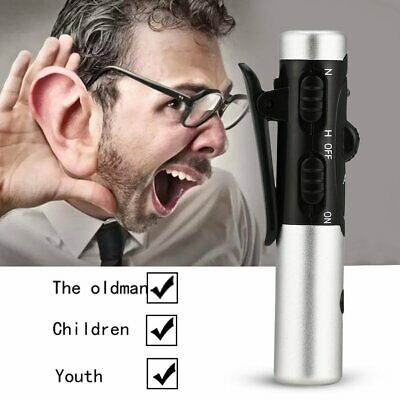 A-60 Rechargeable In-Ear Hearing Aid Adjustable Tone Sound Voice Amplifier
