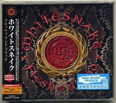 Whitesnake Fresh And Blood Flesh First Edition Limited Cd Dvd