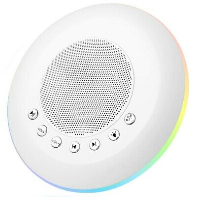 White Noise Sound Machine For Kids Adult, Baby Rest Night Light, With Memor T1H7