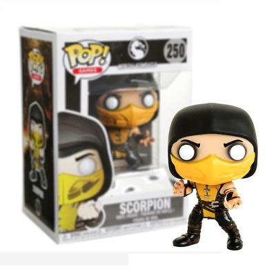 New Mortal Kombat X Scorpion Pop Vinyl Figure #250 Funko Official