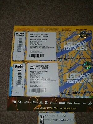 Leeds festival ticket Foo Fighters And More  Friday 23rd August