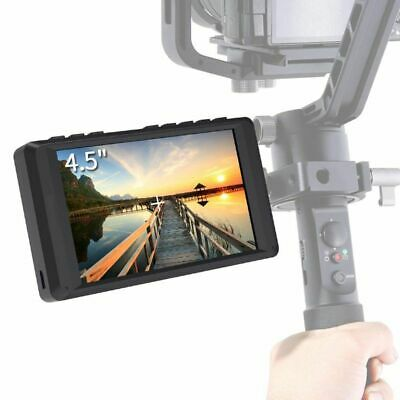4.5 inch DSLR Camera Field Monitor IPS 1280x800 Small HD Video Assist with E5K6
