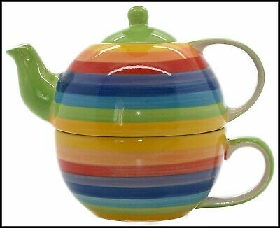 Tea for one, Single Pride tea pot and mug, LGBT