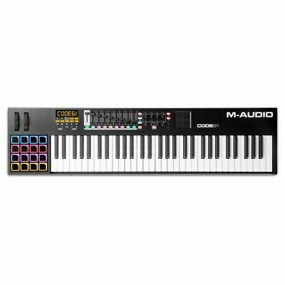 M Audio Code 61 MIDI Keyboard With Ableton Live Lite Software (black)