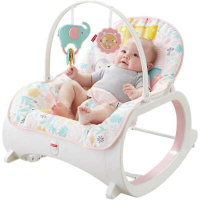 Fisher-Price DTH00 Infant-to-Toddler Rocker, Pink