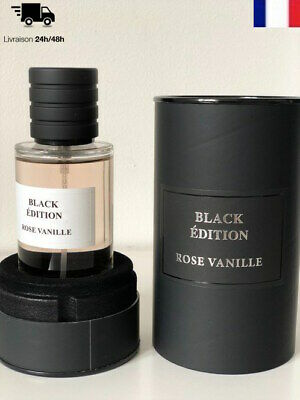 Eau De Parfum Collection Privee Rose Vanille Senteur Roses Mancera Black Edition