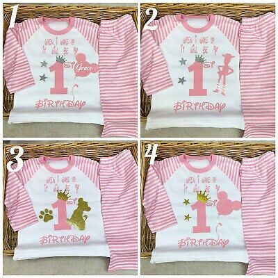When I Wake Up Birthday Personalised Pyjama Baby One two three four five