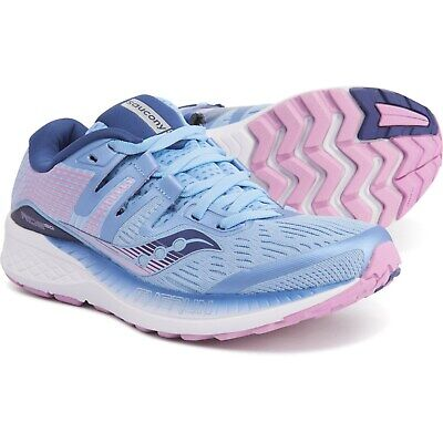 SAUCONY RIDE ISO WIDE Women's Running Shoes Free Priority