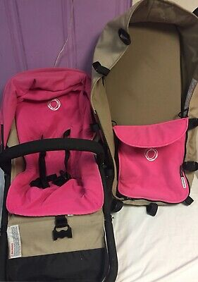 Bugaboo Cameleon complete Seat And Bassinet Pink