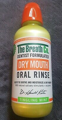 The Breath Co. Dry Mouth Oral Rinse, 500ml