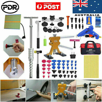 PDR Tools Paintless Dent Repair Puller Lifter Tap Down Hail Removal Kit AU Stock