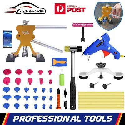 Paintless Dent Removal PDR Dent Lifter Puller Hammer Auto Hail Repair Tools Kit