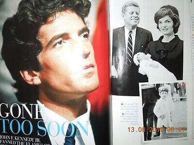 JOHN F KENNEDY JR star special GONE TOO SOON RARE & PERSONAL PHOTOS women NEW