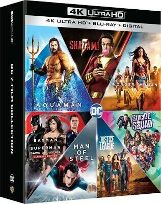 DC 7-Film Collection (4K Ultra HD)(UHD)(Atmos)(Pre-order / Oct 1)