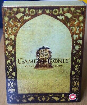 Game of Thrones: The Complete Fifth Season (DVD, 2016) - Like New
