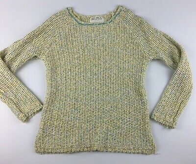 Zara Girls Summer Collection Knit Pulls Yellow Pink Blue Spring Sweater Size 7 8