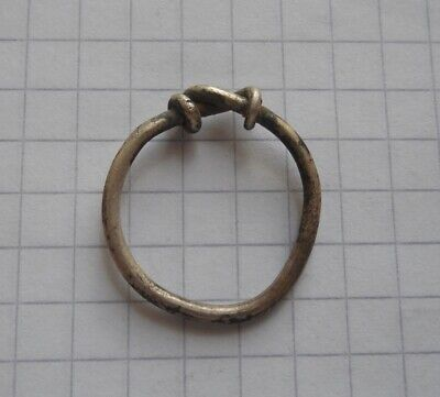 Celtic Period silver ring 17 mm