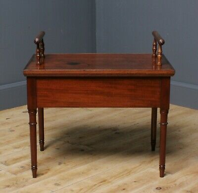 Attractive Antique Victorian Mahogany Bidet Side Table