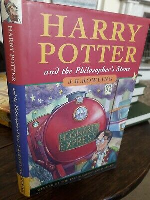 Harry Potter & The Philosopher's Stone . J.K ROWLING.TED SMART .7th PRINT 1ST ED