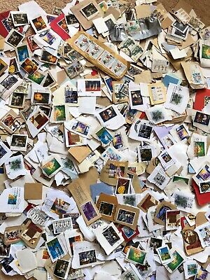 Over 400 grams GB Stamps mainly Xmas Commemorative Postage Stamps On Paper Coms