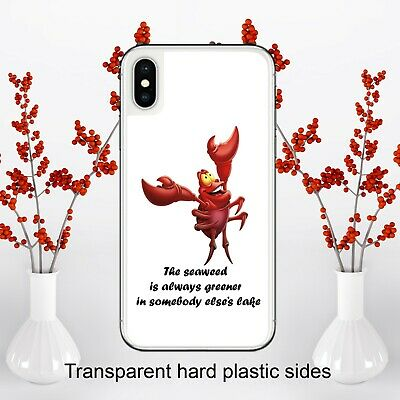 Crab Sebastian Quote Little Mermaid Case Cover for iPhone Samsung Huawei Google