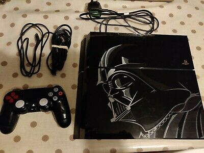 Sony PlayStation 4 Star Wars Battlefront 1TB Jet Black Console. PS4
