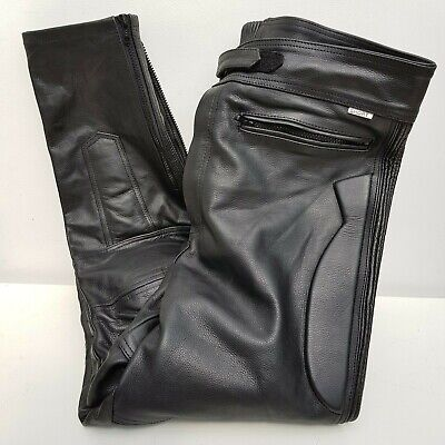 """City of Leather London Mens Leather Motorcycle Motorbike Trousers 36/38"""" Waist"""