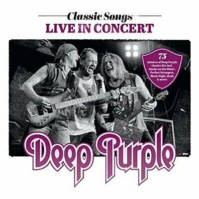 Deep Purple-Classic Songs Live In Concert (Uk Import) Cd New