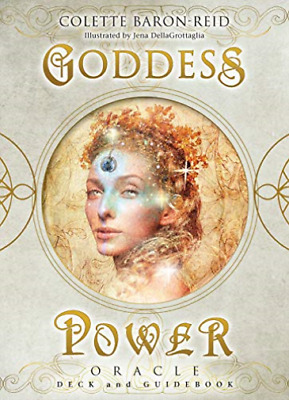 Baron-Reid Colette-Goddess Power Oracle Cards (US IMPORT) ACC NEW