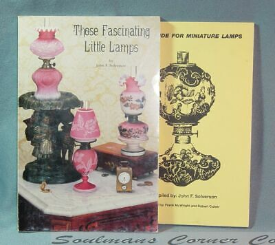 Terrific Lot Those Fascinating Little Lamps Guide w/Price Guide *FREE SHIPPING*