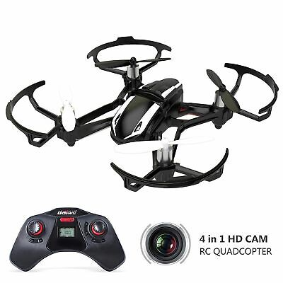 UDI U841-1 RC Quadcopter Car Drone with 2MP HD Camera 3D Flip 2.4Ghz 6-Axis Gyro