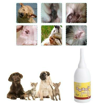 30ml Ear-drops Oil Dog Cat Sterilize Cleaner Infection Control Yeast Mites