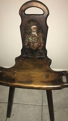 Antique Birthing Chair Made In Spain