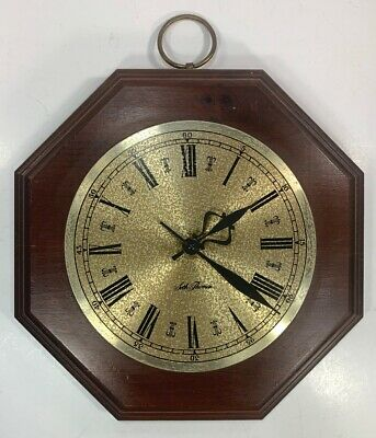 Vintage Seth Thomas Model 2780-000 Wooden Sherwood Clock Made in USA Works