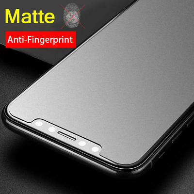 Matte Anti-Glare Tempered Glass Screen Protector For iPhone 11 Pro XR XS MAX 8 7