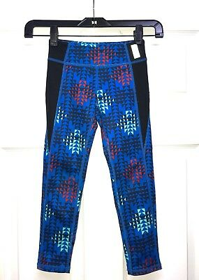 Zella Girls Athletic Leggings Blue Size 5/6 Gymnastics